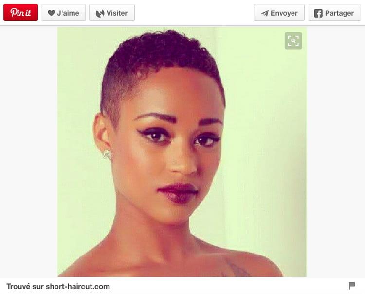 Court afro 20 coupes courtes qui donnent envie d 39 oser - Coupe afro courte peaux noires et metissees ...