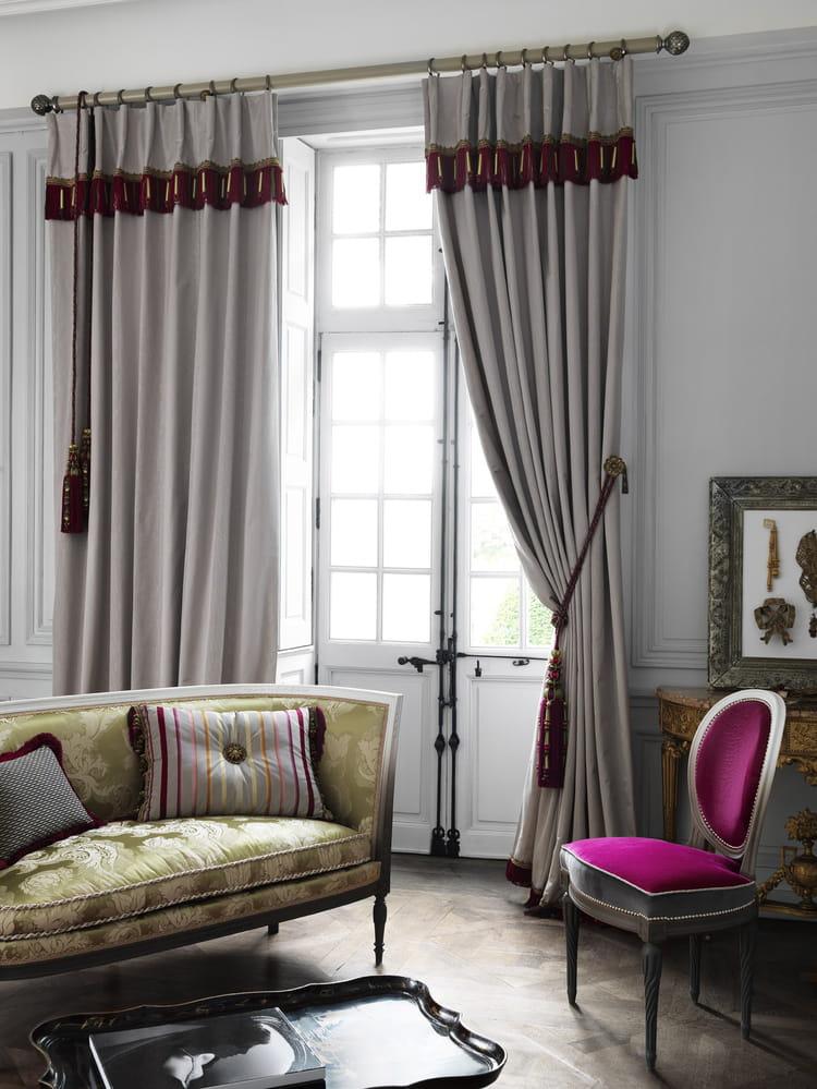 10 rideaux cosy pour passer l hiver au chaud journal des femmes. Black Bedroom Furniture Sets. Home Design Ideas