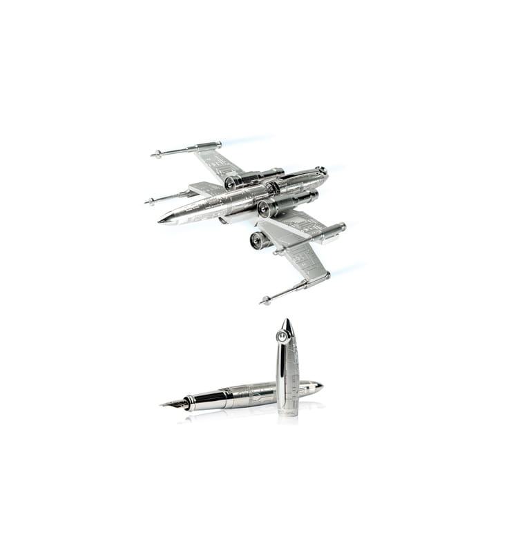 stylo et porte stylo x wing de s t dupont. Black Bedroom Furniture Sets. Home Design Ideas
