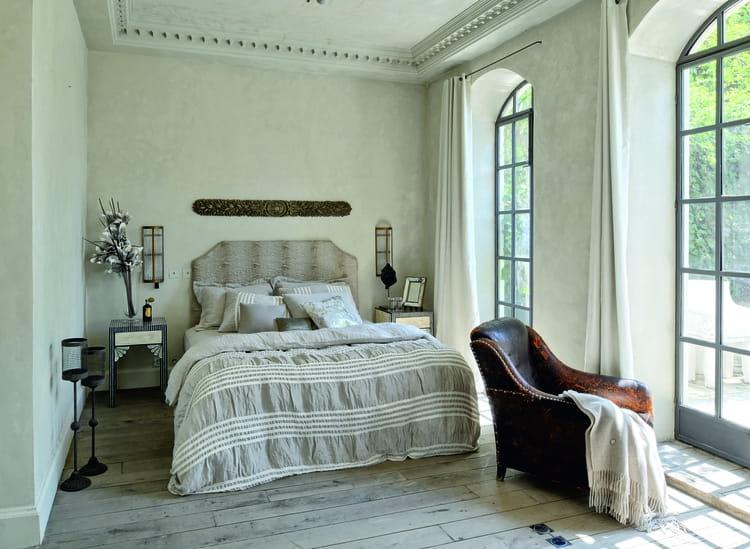 parure de lit en lin hanim d 39 hamam. Black Bedroom Furniture Sets. Home Design Ideas