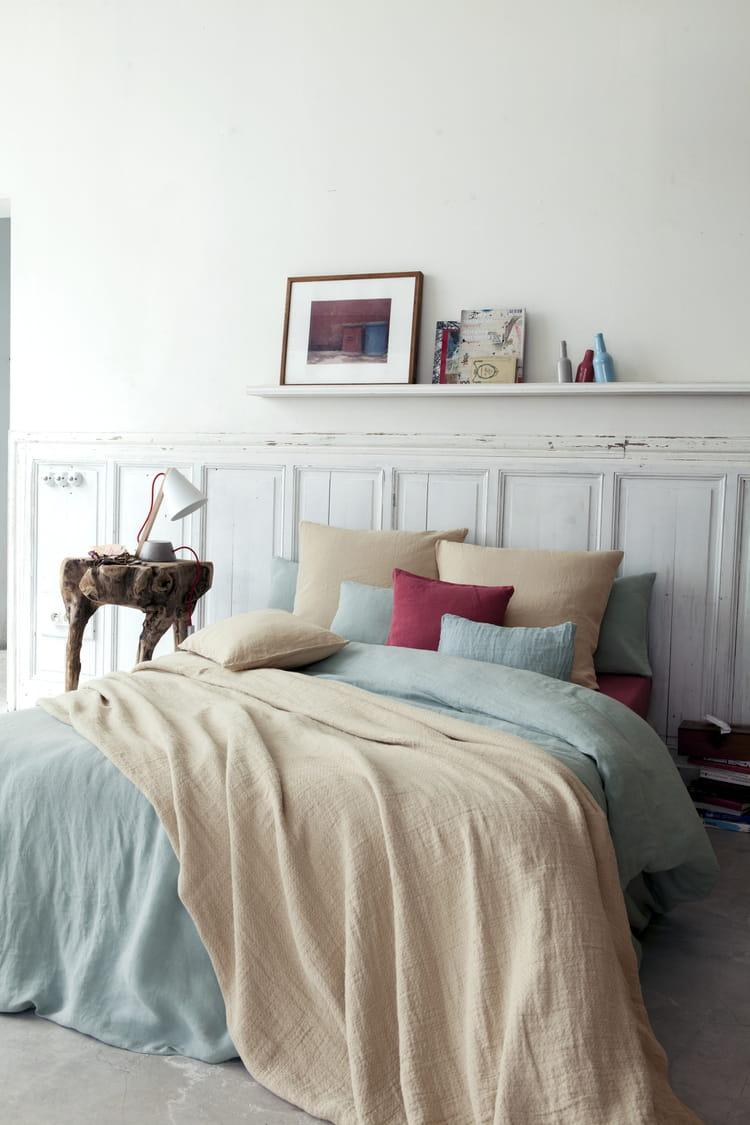 boutis et couvre lits r chauffent l ambiance cet hiver journal des femmes. Black Bedroom Furniture Sets. Home Design Ideas