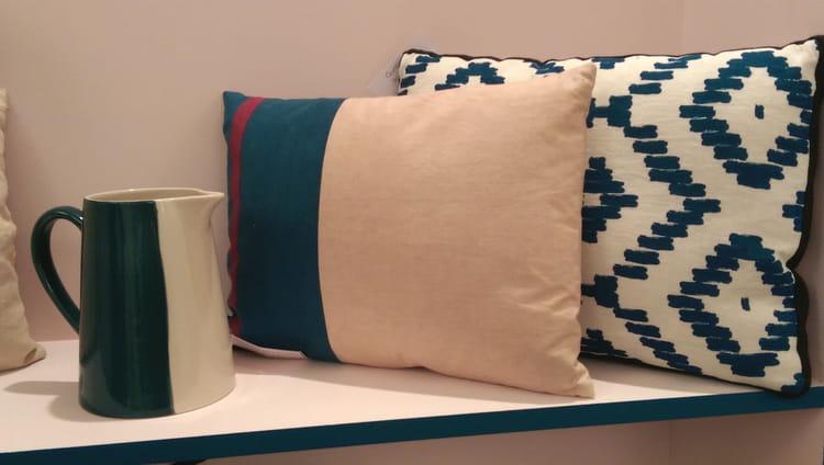 pichet et coussins sarah lavoine x monoprix une collection maison qui a du style journal. Black Bedroom Furniture Sets. Home Design Ideas
