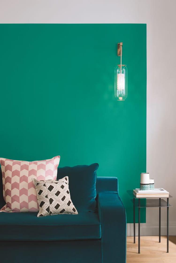 peinture bleu sarah par sarah lavoine pour ressource peinture bleue et verte de l 39 exotisme. Black Bedroom Furniture Sets. Home Design Ideas