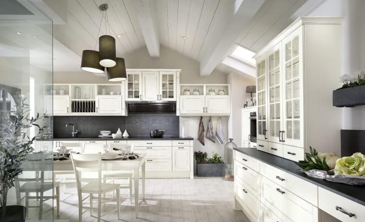 cuisine d lia par mobalpa cuisine rustique et si on la modernisait un peu journal des femmes. Black Bedroom Furniture Sets. Home Design Ideas