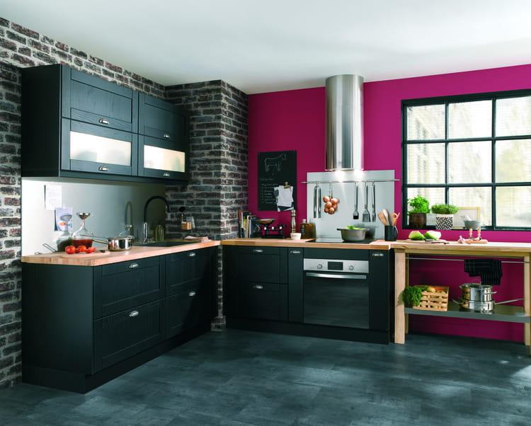 cuisine montmartre par conforama cuisine rustique et si on la modernisait un peu journal. Black Bedroom Furniture Sets. Home Design Ideas