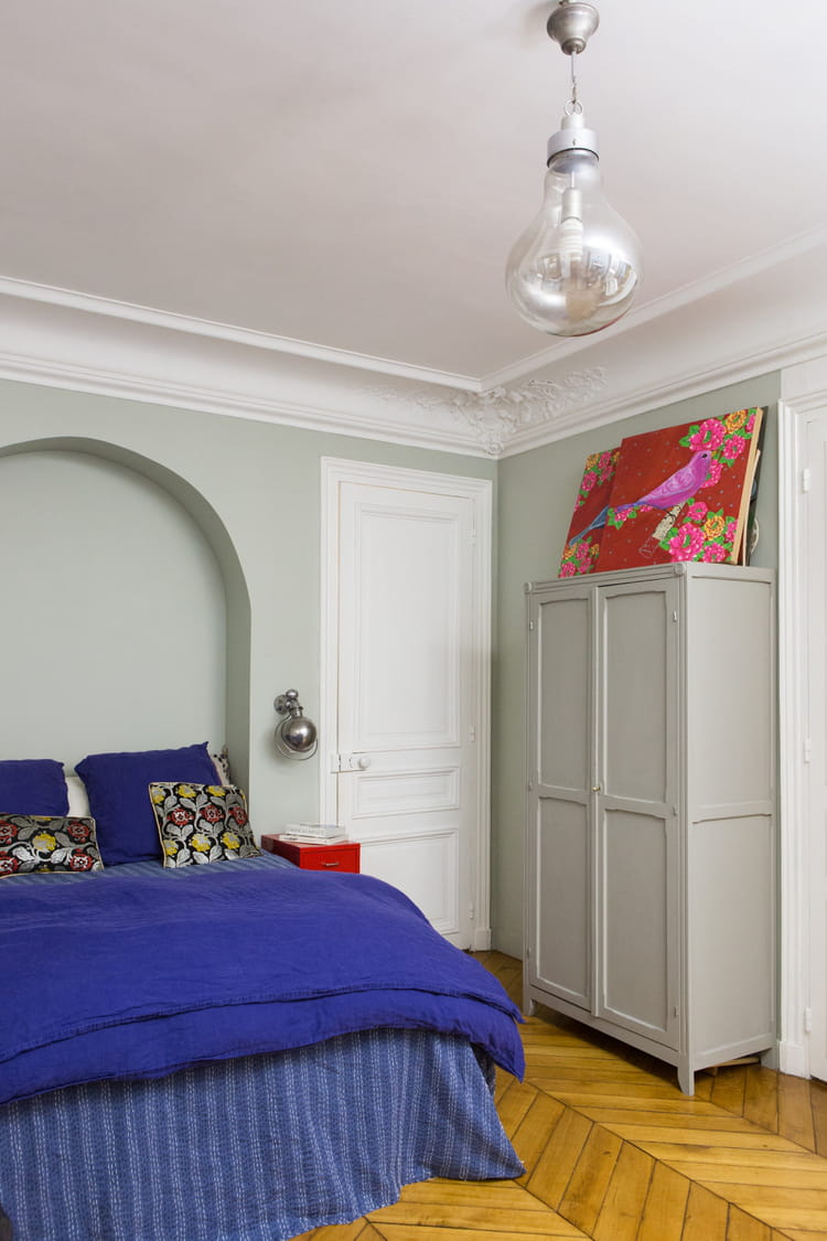 dessus de lit color le style boh me chic en d co journal des femmes. Black Bedroom Furniture Sets. Home Design Ideas