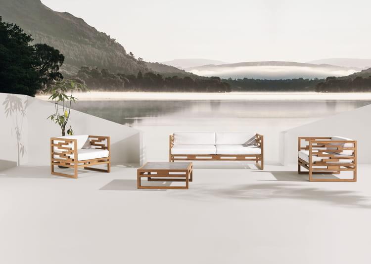 salon de jardin kontiki chez emu salon de jardin 20 ensembles outdoor en bois journal des. Black Bedroom Furniture Sets. Home Design Ideas