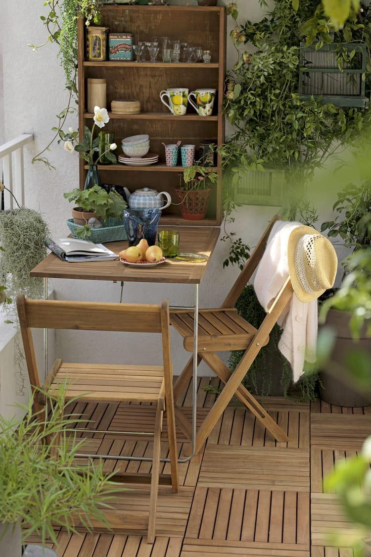 salon de balcon chez delamaison balcon tout pour l. Black Bedroom Furniture Sets. Home Design Ideas