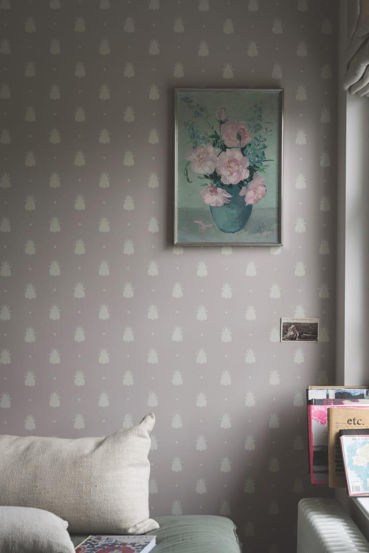 un papier peint cabinet de curiosit s. Black Bedroom Furniture Sets. Home Design Ideas