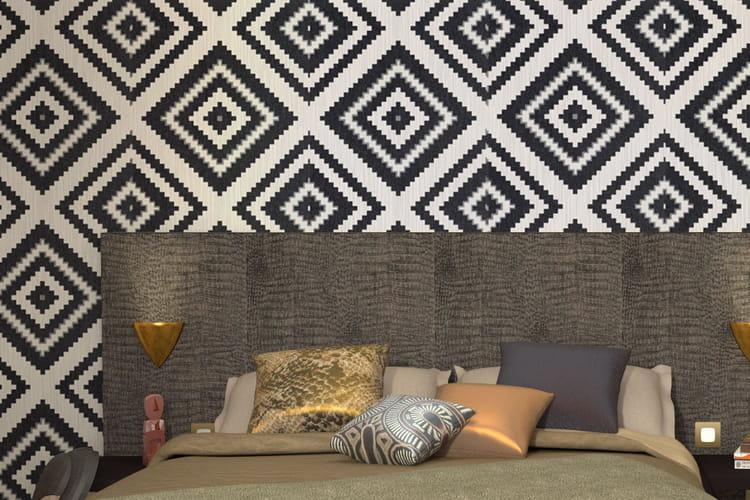 quel papier peint pour ma chambre. Black Bedroom Furniture Sets. Home Design Ideas