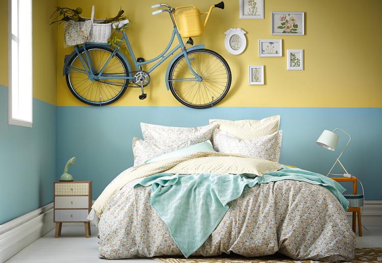 Le printemps se pose sur le linge de lit journal des femmes - Housse de couette essix ...