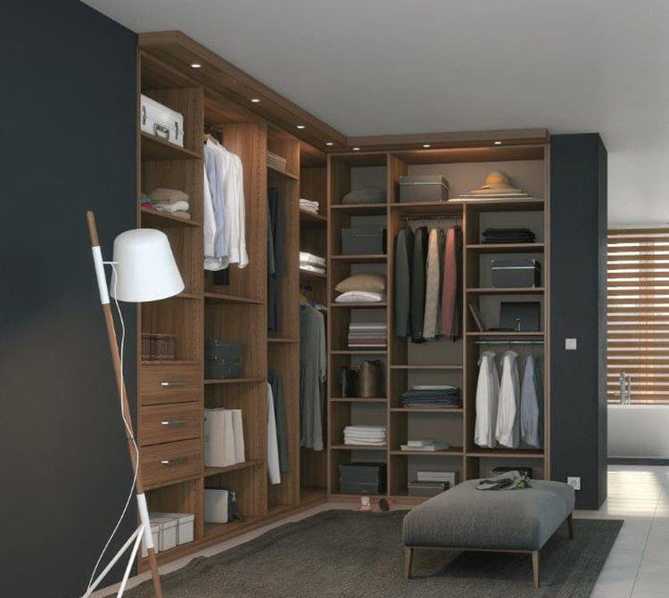 dressing d 39 angle archea comment am nager un dressing d. Black Bedroom Furniture Sets. Home Design Ideas