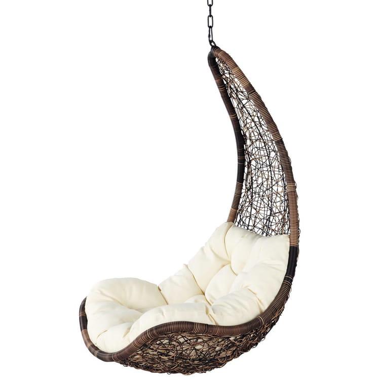 fauteuil suspendu maisons du monde. Black Bedroom Furniture Sets. Home Design Ideas