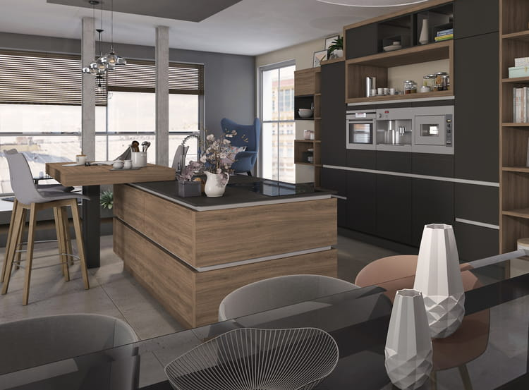 l 39 lot de cuisine avec bar 15 nouveaux lots rep r s. Black Bedroom Furniture Sets. Home Design Ideas