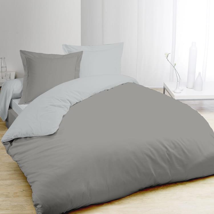 La parure de lit bicolore for Parure de lit ralph lauren pas cher