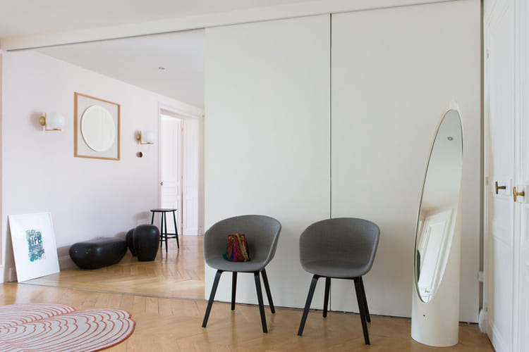 un espace modulable 200 m de douceur vivre journal des femmes. Black Bedroom Furniture Sets. Home Design Ideas