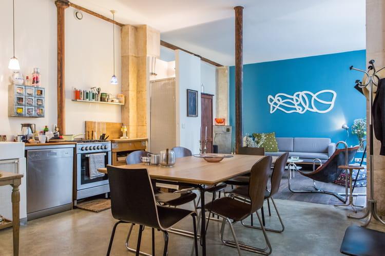 Une cuisine ouverte minimaliste 40 cuisines ouvertes for Minimaliste cuisine