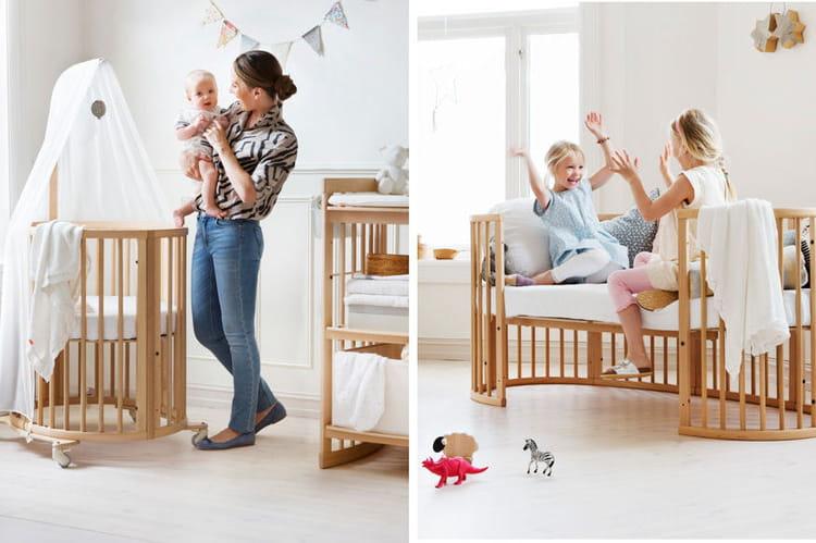 lit volutif sleepi stokke lit chaise haute si ge auto choisissez les volutifs. Black Bedroom Furniture Sets. Home Design Ideas