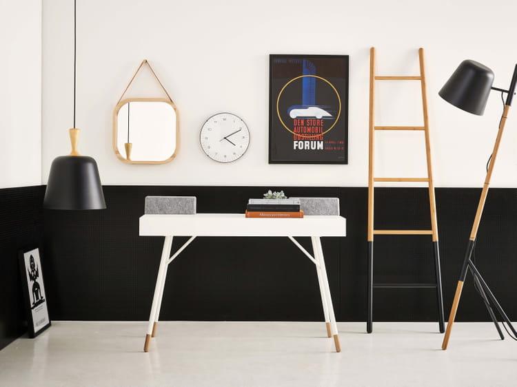 bureau cupertino par boconcept 13 bureaux pour une d co scandinave et nature journal des femmes. Black Bedroom Furniture Sets. Home Design Ideas
