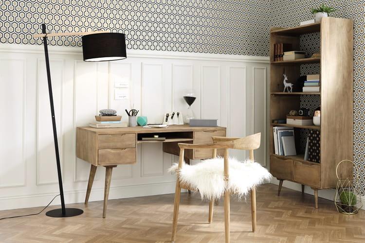 13 bureaux pour une d co scandinave et nature journal. Black Bedroom Furniture Sets. Home Design Ideas