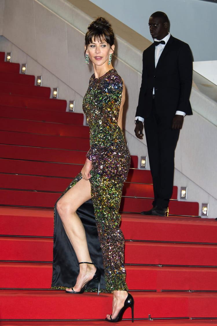 les jambes galb es de sophie marceau les plus belles jambes de stars journal des femmes. Black Bedroom Furniture Sets. Home Design Ideas