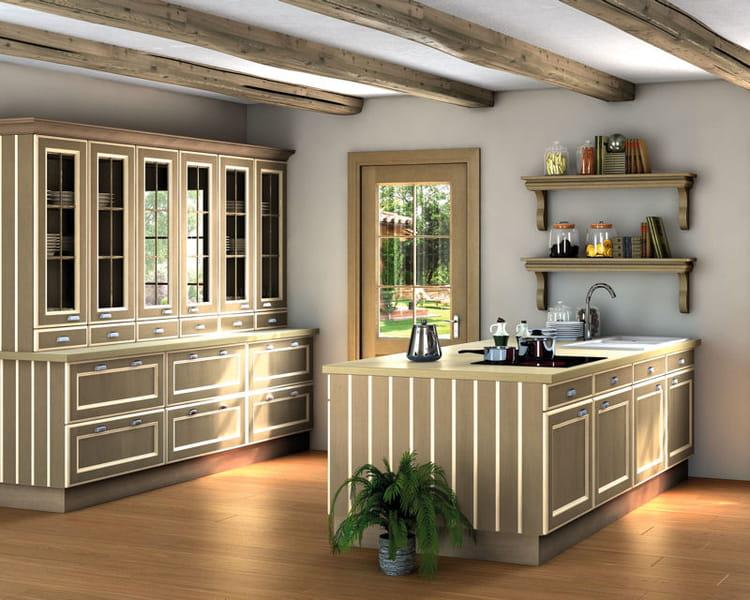 cuisine empreinte de cuisines teisseire les nouvelles cuisines tendance journal des femmes. Black Bedroom Furniture Sets. Home Design Ideas