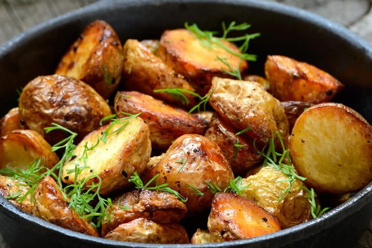 Comment r ussir les pommes de terre saut es - Pomme de terre grille a la poele ...