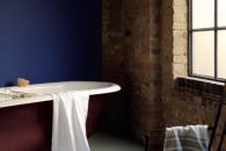 peinture ultra resist salle de bains de dulux valentine. Black Bedroom Furniture Sets. Home Design Ideas