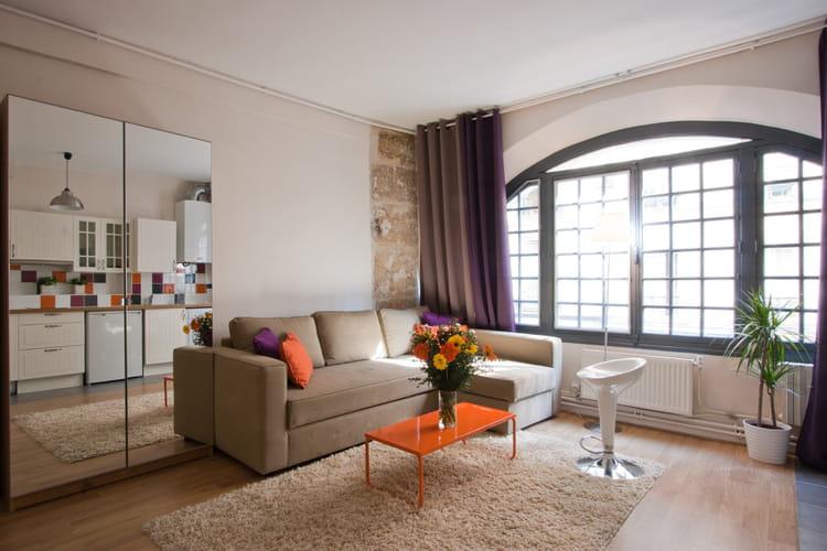 am nager un petit salon conseils et photos. Black Bedroom Furniture Sets. Home Design Ideas