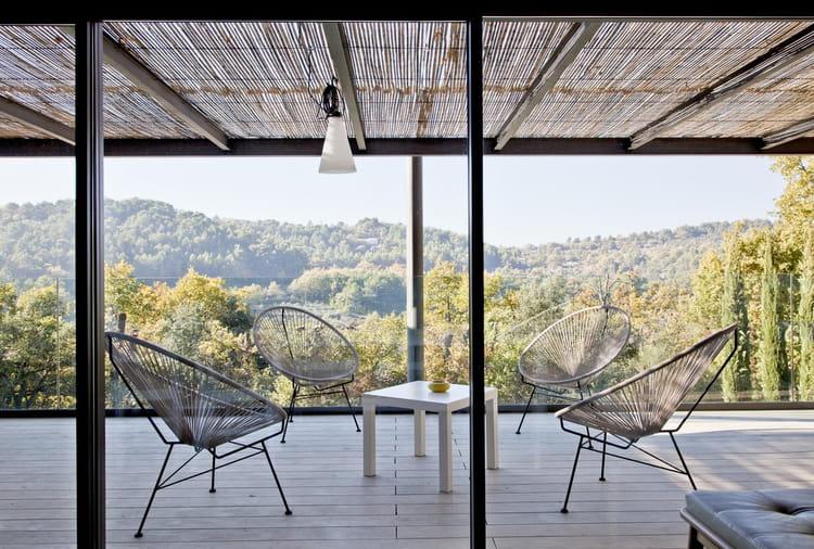 Terrasse en bois 43 ambiances canon copier for Jardin 600m2