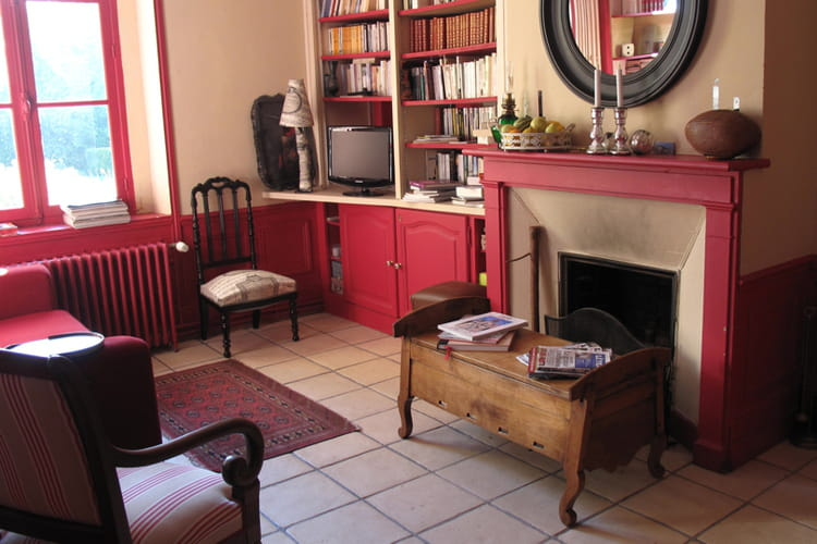 Salon cosy chaleureux for Salon chaleureux