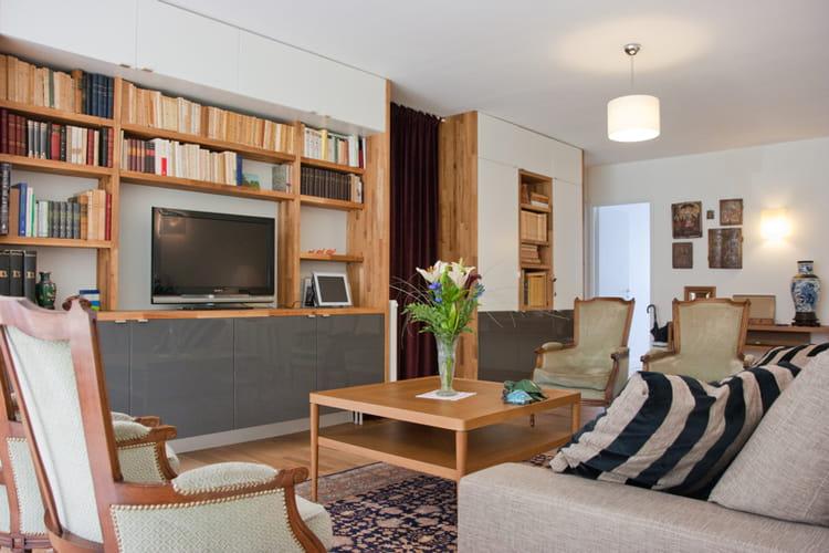 Modernit Classique Dans Un Appartement Familial Vos Reportages D Co Pr F R S En 2011