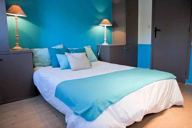 Chambre sur l 39 eau - Objet deco bleu turquoise ...