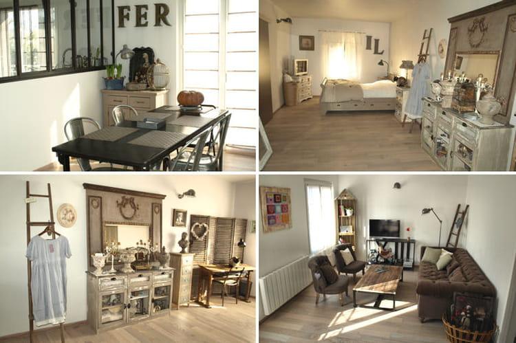 Visitez la maison de sylvie journal des femmes - Maison deco industriel ...