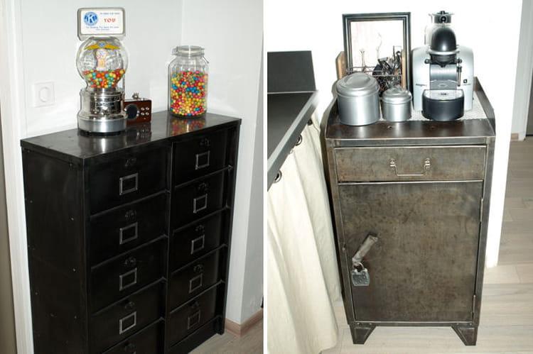petits meubles de cuisine visitez la maison de sylvie journal des femmes. Black Bedroom Furniture Sets. Home Design Ideas