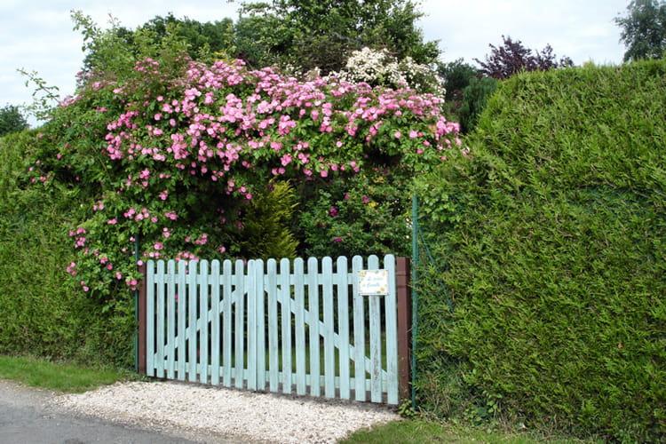 Portail sous les roses visitez le jardin de camille for Portail entree jardin