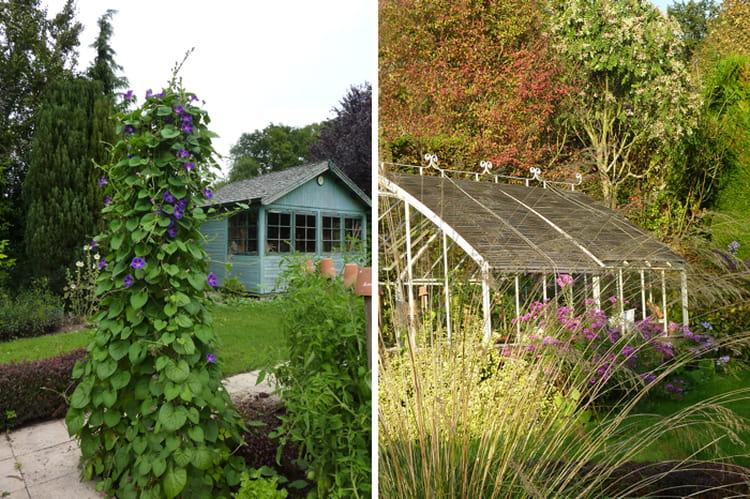 cabane et serre de jardin visitez le jardin de camille journal des femmes. Black Bedroom Furniture Sets. Home Design Ideas