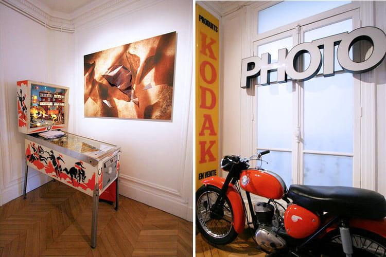 et ludique entrez dans l 39 appart cr atif d 39 une artiste journal des femmes. Black Bedroom Furniture Sets. Home Design Ideas