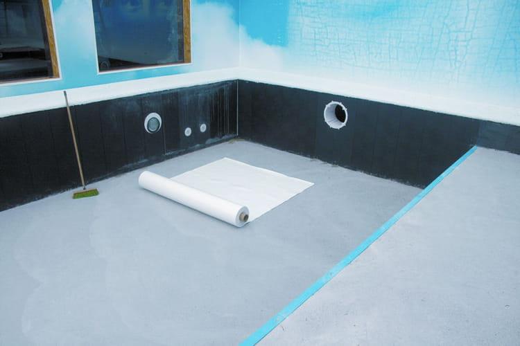 Etape 5 la pose du liner secret story 6 la for Pose de liner de piscine