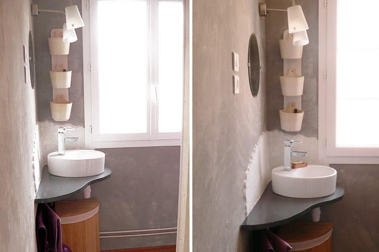 la salle de bains de fabienne apr s avant apr s des. Black Bedroom Furniture Sets. Home Design Ideas
