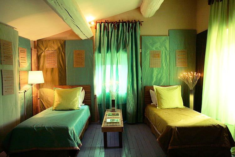 Vert et bleu féériques : Des chambres denfant à croquer - Journal ...