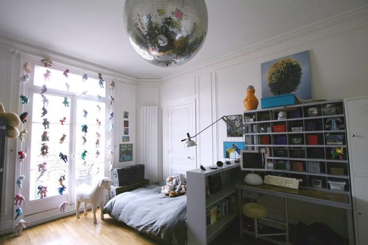 Rideau D 39 Ours En Peluche Et Boule Disco Des Chambres D