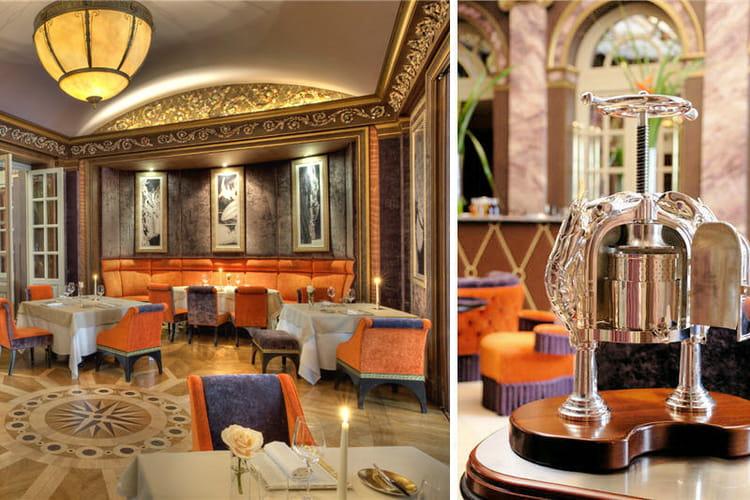 Le restaurant pressoir d 39 argent toil au guide for Le pressoir restaurant