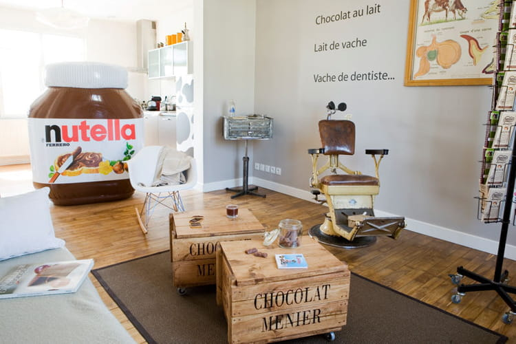 Un appartement en chocolat