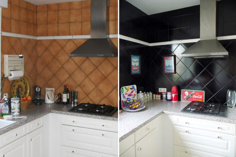 avant apr s cuisine. Black Bedroom Furniture Sets. Home Design Ideas