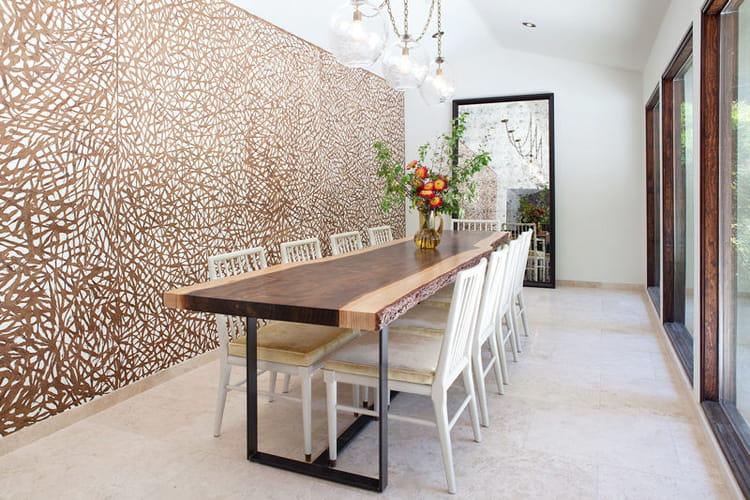 Decoration Mur Interieur En Bois : arbre au c?ur de notre int?rieur : Le bois, mat?riau star de la