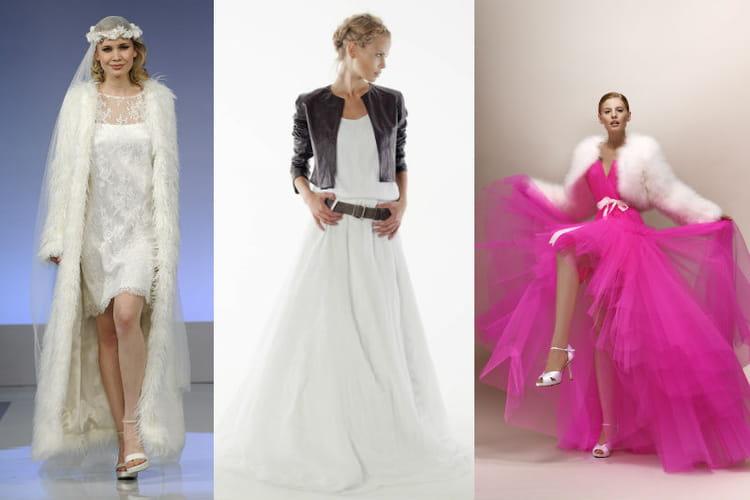 28 robes de mariée hivernales