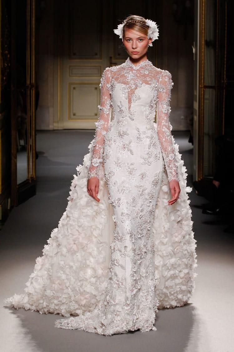 D fil georges hobeika haute couture printemps t 2013 for Prix de robe de mariage en or georges chakra