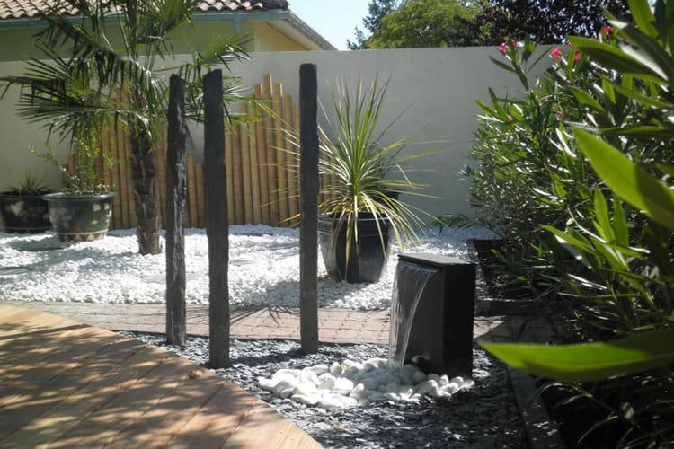 Le doux bruit de la fontaine un jardin japonais facile for Jardin facile a entretenir