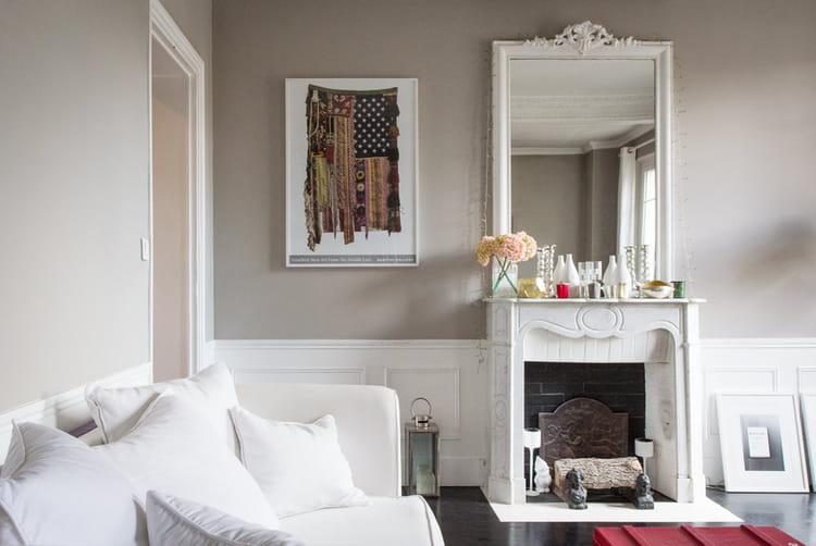 apr s un joli coin chemin e avant apr s la renaissance d 39 un appartement de style 1910. Black Bedroom Furniture Sets. Home Design Ideas